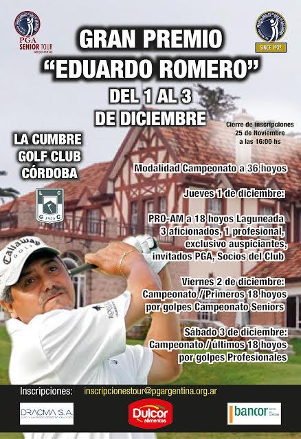 Afiche Eduardo Romero